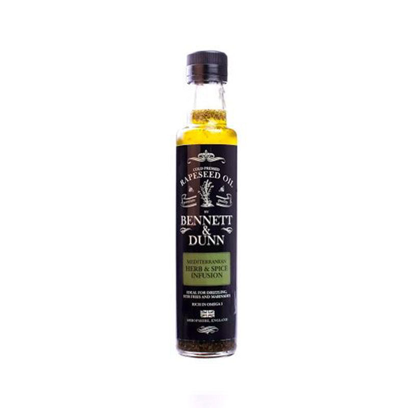 Bennett and Dunn Mediterranean Herb & Spice Infusion Oil 250ml