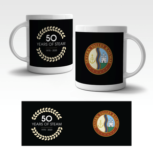 Limited Edition 50 Years of Steam Mug