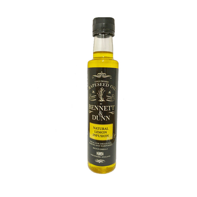 Bennett and Dunn Natural Lemon Infusion Oil 250ml
