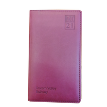 Load image into Gallery viewer, Severn Valley Railway 2020/21 Diary - Red