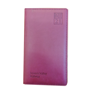 Severn Valley Railway 2020/21 Diary - Red
