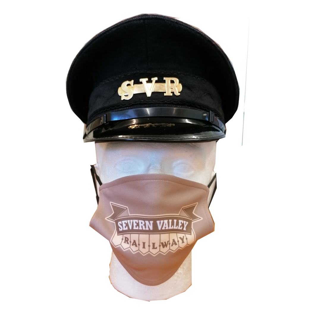 Severn Valley Railway Logo Face Mask