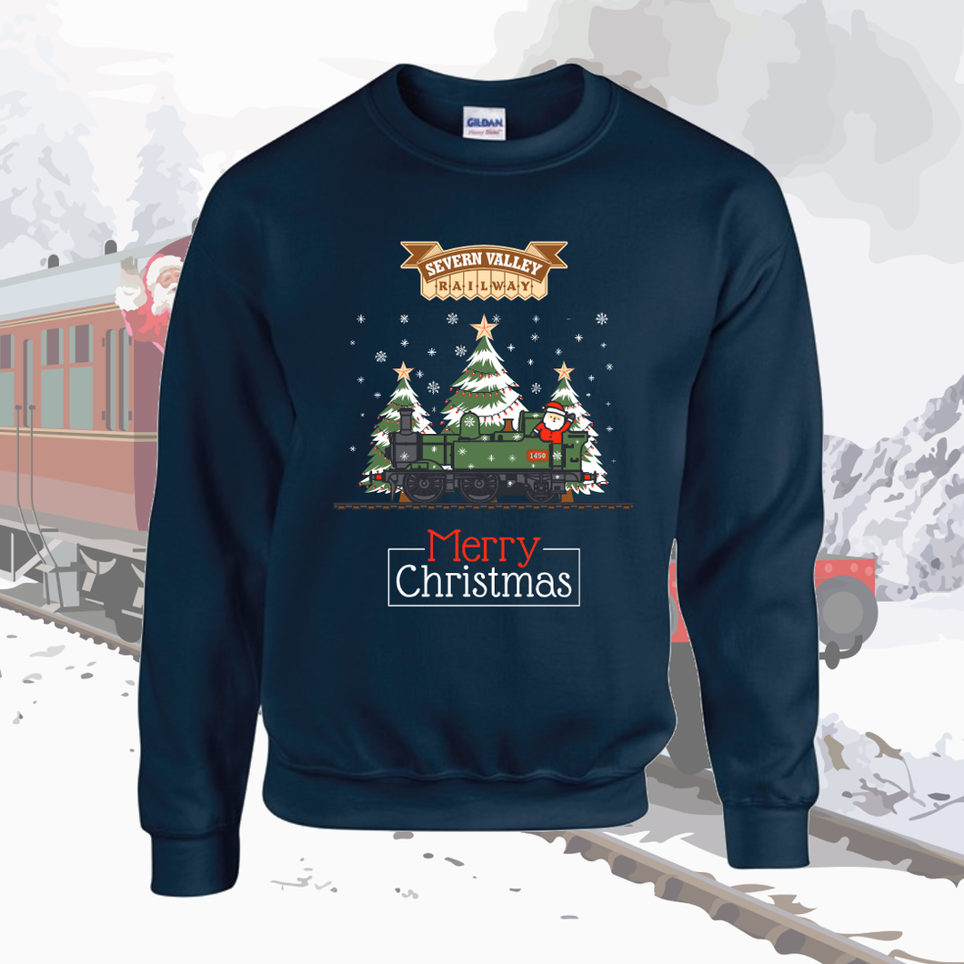 Limited Edition Severn Valley Railway 2020 Christmas Sweater (Adult Sizes)