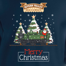 Load image into Gallery viewer, Limited Edition Severn Valley Railway 2020 Christmas Sweater (Adult Sizes)