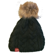 Load image into Gallery viewer, Severn Valley Railway Bobble Hat with detachable fluffy bobble