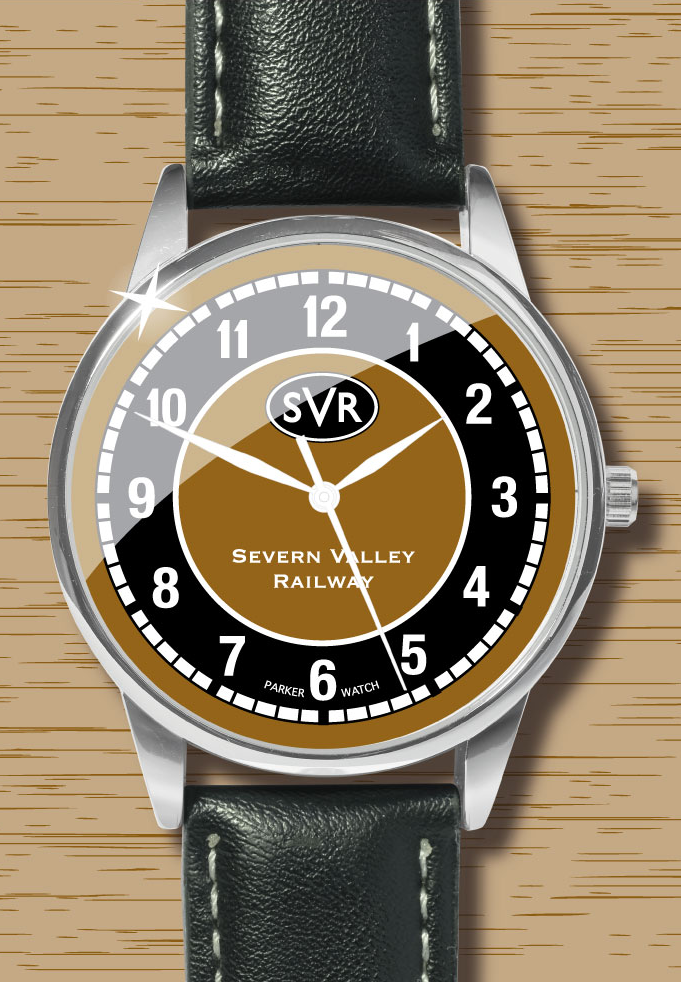 EXCLUSIVE Severn Valley Railway Old Gold and Black Watch