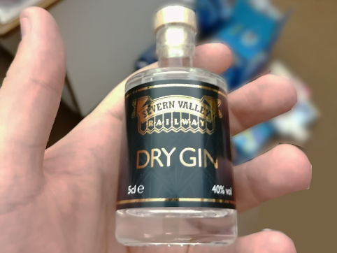 Severn Valley Railway Dry Gin Miniature