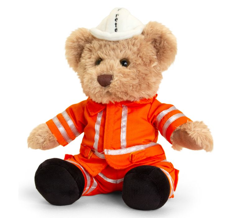 Severn Valley Railway Pete the P/Way Bear 30cm