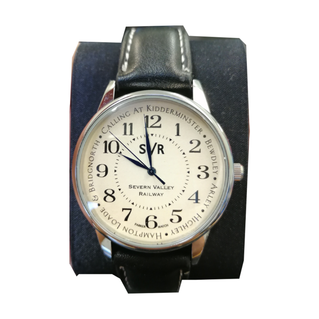 EXCLUSIVE Severn Valley Railway watch with handpainted cream face