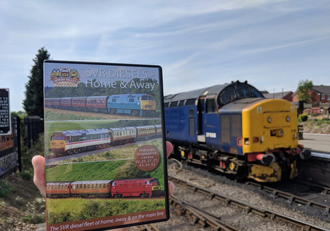 Severn Valley Railway Diesels DVD - Home and Away