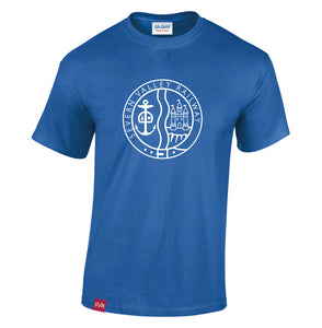 Royal blue Severn Valley Railway heavy cotton adult t-shirt -SVRW0006