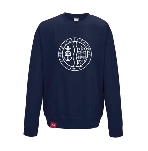 French navy Severn Valley Railway adult sweatshirt -SVRW0015
