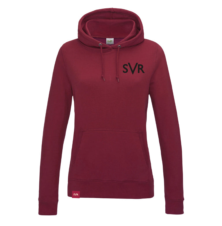 Red Hot Chilli Severn Valley Railway lady fit hooded sweatshirt -SVRW0019