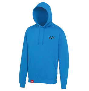Tropical Blue Severn Valley Railway adult hooded sweatshirt -SVRW0023