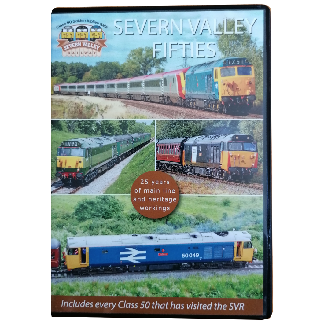 Severn Valley Railway DVD - Severn Valley Fifties