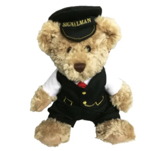 Severn Valley Railway Sidney the Signalman Bear 30cm