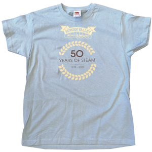 Limited Edition 50 Years of Steam Logo Children's T-Shirt