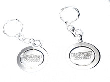 Load image into Gallery viewer, Severn Valley Railway spinning logo keyring