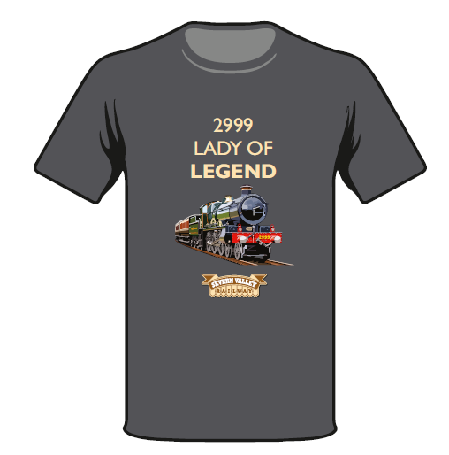 Limited Edition 2999 Lady of Legend Spring Steam Up T Shirt