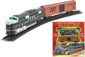 Large-sized Battery Operated Classic Train Set featuring 3.5m of track!