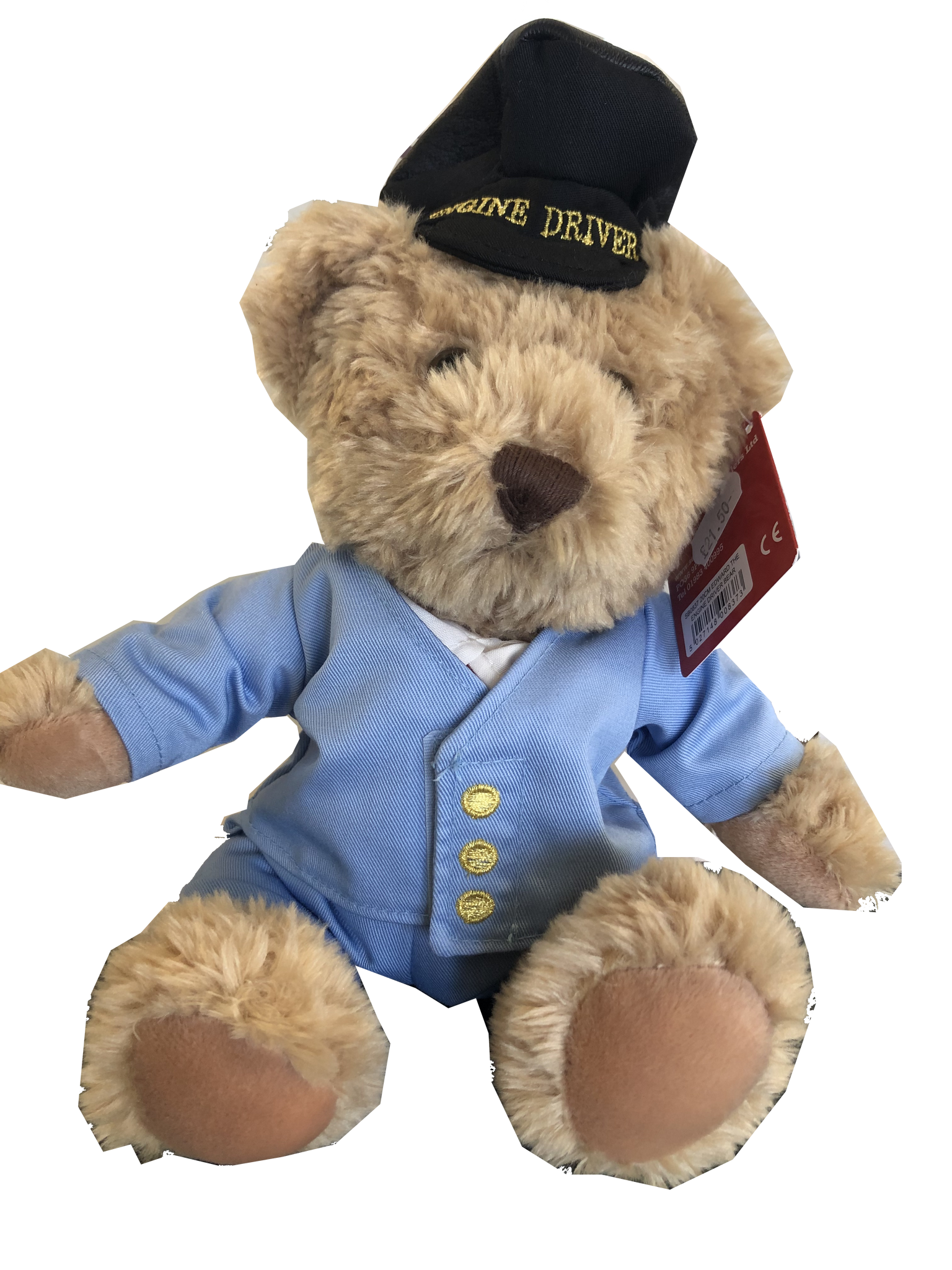 Severn Valley Railway Train Driver Cuddly Bear 30cm