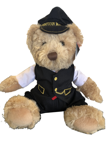 Severn Valley Railway Station Master Cuddly Bear 30cm