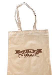Severn Valley Railway Cotton Shopping Bag