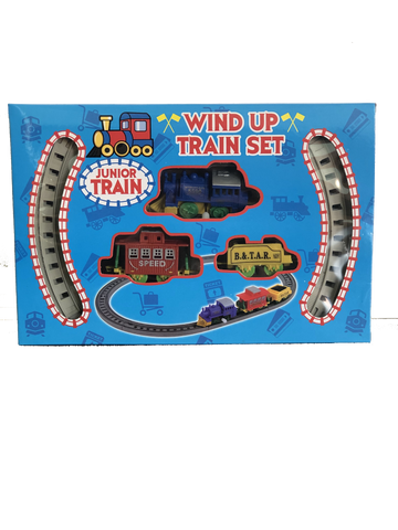 Children's Wind Up Train Set Ages 3+
