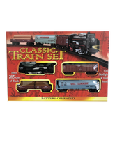 Load image into Gallery viewer, Medium-sized Battery Operated Classic Train Set