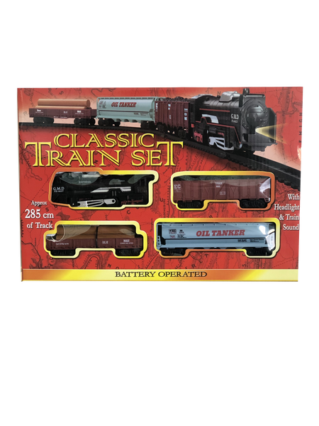 Medium-sized Battery Operated Classic Train Set
