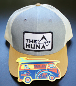 TheHuna Adventure Surf Wagon Bus Sticker