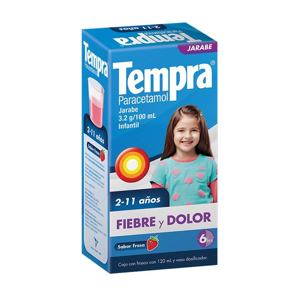 Tempra Jarabe 120ml