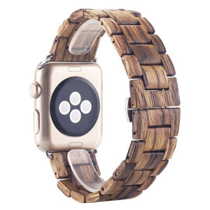 Bamboo Apple Watch Band (42mm Width)
