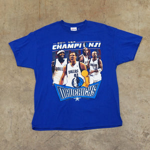 Dallas Mavericks 2011 Champions Tshirt