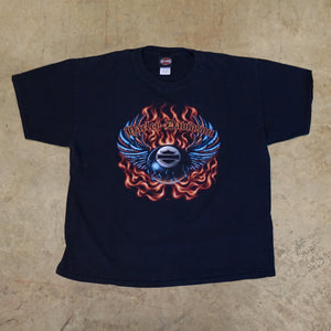 Harley Davidson Flying 8ball Tshirt!