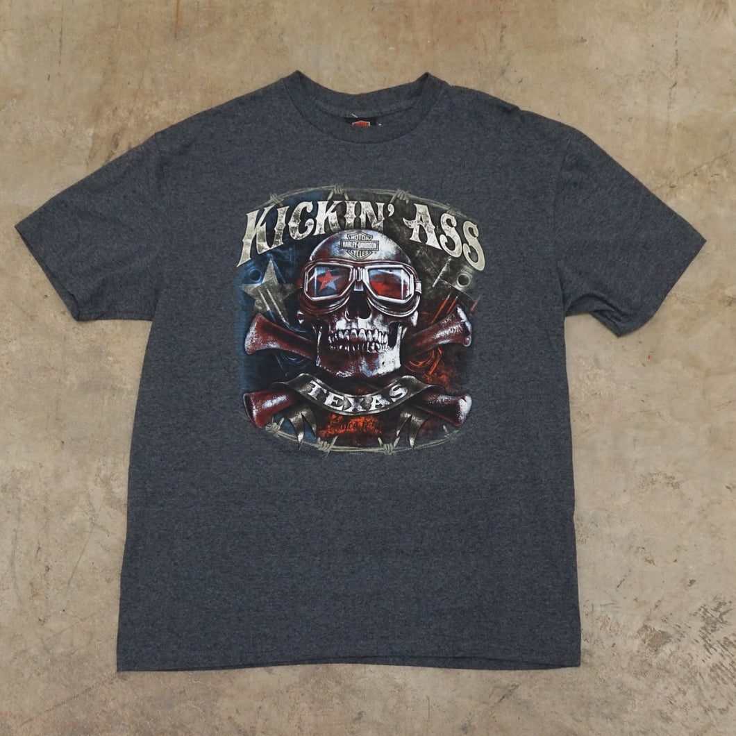 Harley Davidson Kicking Ass Texas TShirt