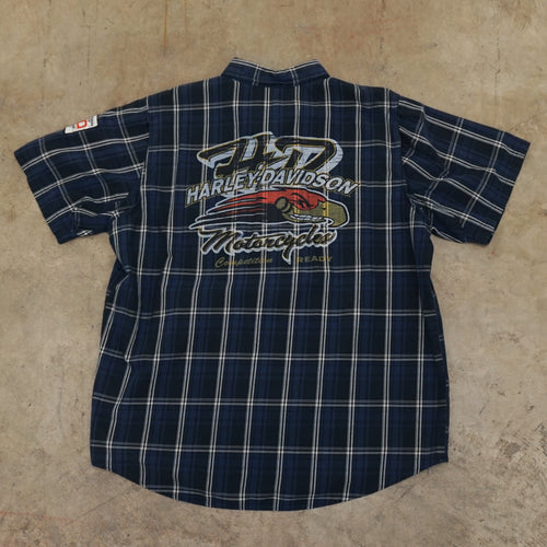 Harley Davidson Competition Ready Button Up