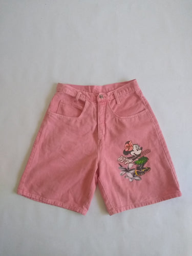 Minnie Mouse Pink Jean Shorts