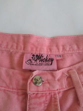 Load image into Gallery viewer, Minnie Mouse Pink Jean Shorts
