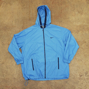 Nike Vintage Baby Blue Windbreaker Jacket