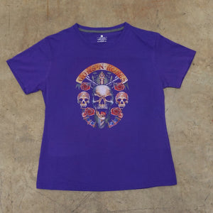 Guns and Roses Purple Band Tshirt