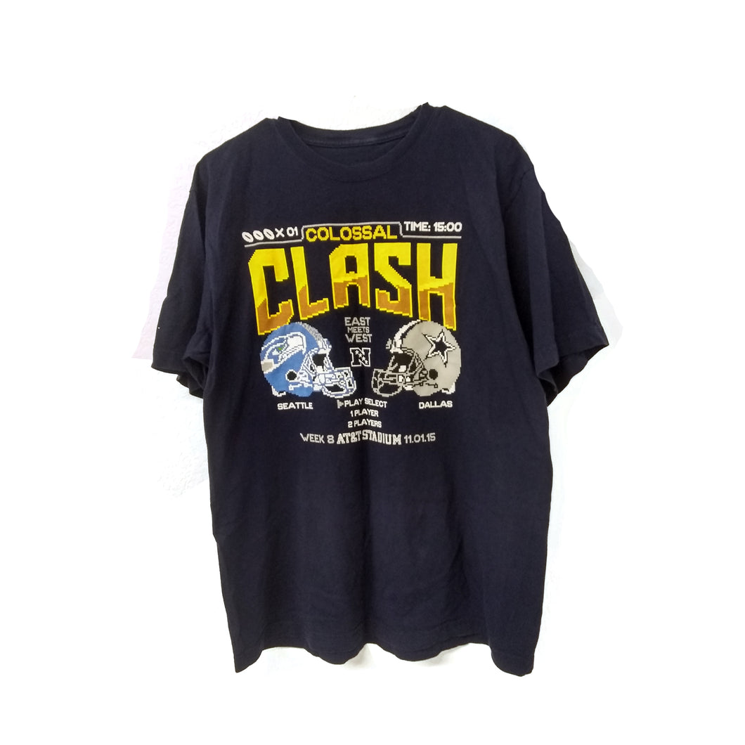 Dallas Cowboys Colossal Clash 8 bit Tshirt