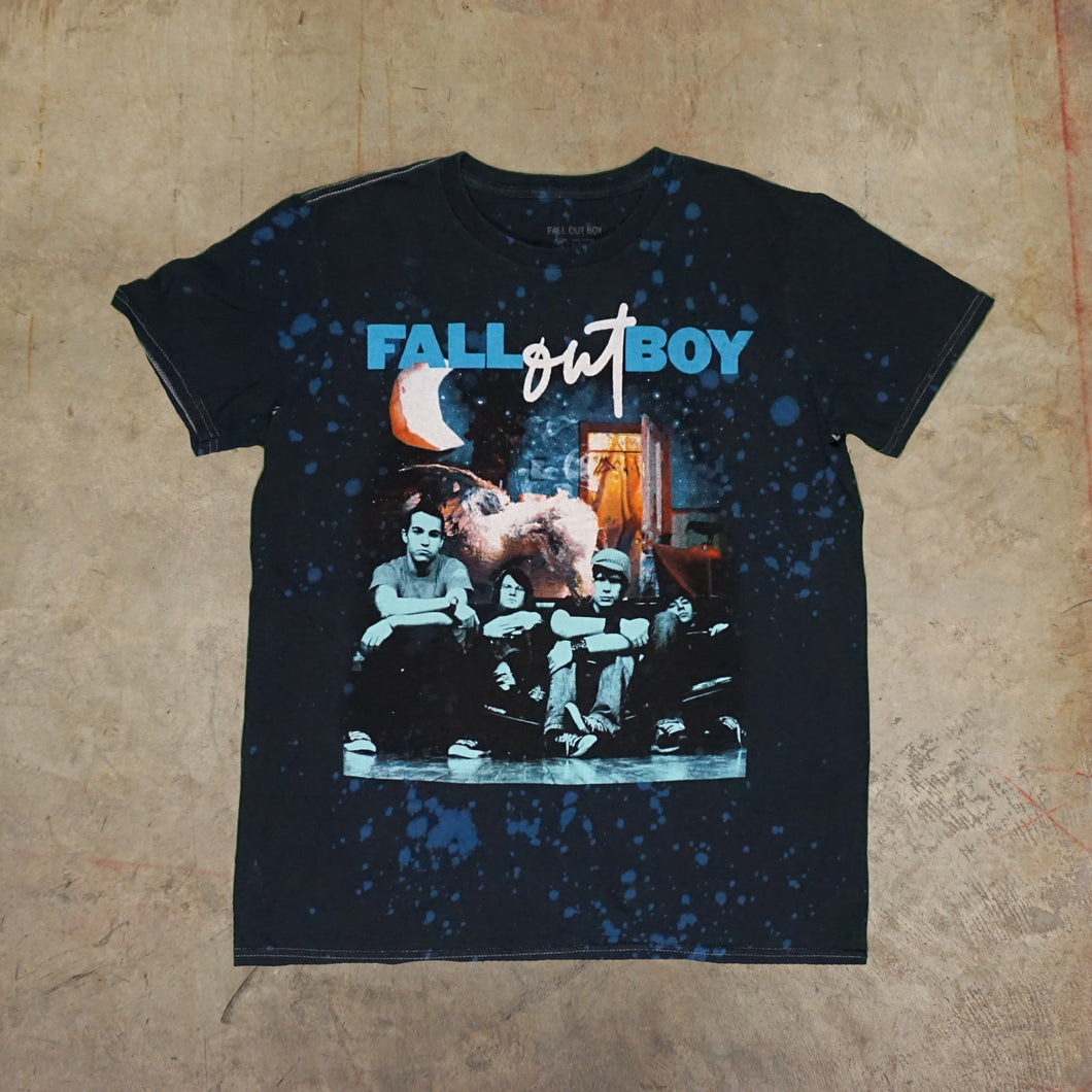 Fallout Boy Bleach dyed Tshirt