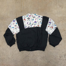 Load image into Gallery viewer, Flower pattern Vintage Windbreaker