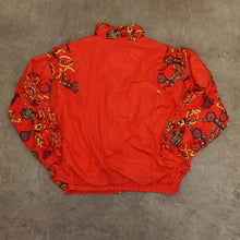 Load image into Gallery viewer, Vintage Red Print Windbreaker