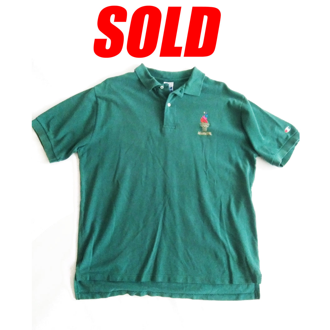 Champion Atlanta 1996 Olympics Polo