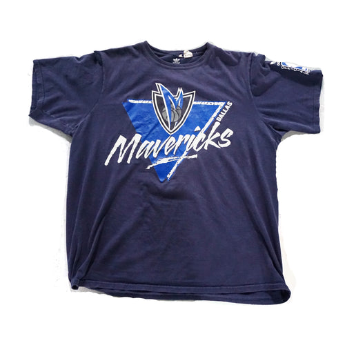 Dallas Mavericks Adidas Vintage T-Shirt