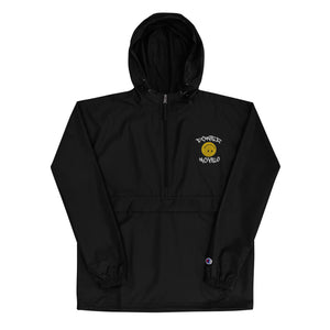 Power Moves Happy Face Limited Edition Embroidered Champion Packable Jacket