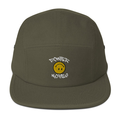 Powermoves Happy Face Five Panel Cap