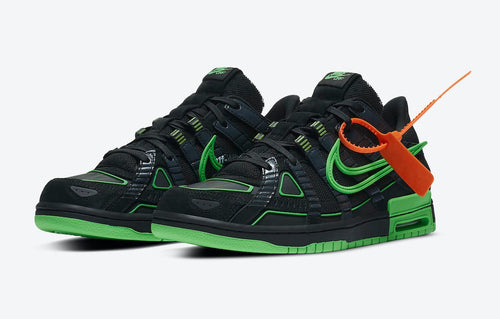 "Nike Air Rubber Dunk ""Off-White - Green Strike"""